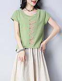 ieftine Tricou-tricou de lenjerie pentru femei - gât rotund geometric