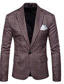 billige Herreskjorter-Blazer-Stripet Forretning Herre