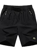 povoljno Muške duge i kratke hlače-Muškarci Veći konfekcijski brojevi Kratke hlače Hlače Jednobojni