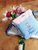 hesapli Kadın Gecelikleri-Kadın's / Unisex Çantalar Tuval Omuz çantası Fermuar için Alışveriş Gök Mavisi