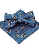 olcso Öltönyök-Uniszex Nyomtatott Csokor Vintage / Party - Csokornyakkendő