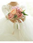 رخيصةأون طرحات الزفاف-زهور الزفاف باقات زفاف / حفلة الزفاف ستان / قماش 11-20 cm