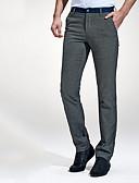 billige Eksotisk herreundertøj-Herre Bomuld Chinos Bukser Ensfarvet