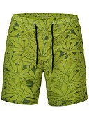 cheap Men's Pants & Shorts-Men's Active / Street chic Chinos Pants - Floral Print