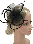 cheap Women's Headpieces-Women's Fashion / Elegant Hair Clip / Fascinator - Solid Colored Flower / Mesh