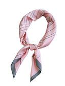 cheap Women's Scarves-Unisex Square - Striped / Print Mesh