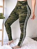 abordables Pantalones para Mujer-Mujer Noche Deportivo Legging - Bloques Alta cintura