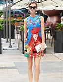 tanie Sukienki-Damskie Moda miejska Szczupła Pochwa Sukienka Nad kolano