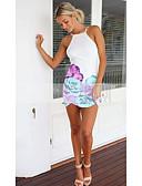 ieftine Sweater Dresses-Pentru femei Bodycon Rochie Geometric Mini