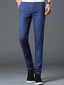 זול בגדי ים לגברים-בגדי ריקוד גברים רזה ג'ינסים מכנסיים אחיד