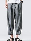 ieftine Pantaloni Bărbați si Pantaloni Scurți-Bărbați De Bază Pantaloni Chinos Pantaloni Mată