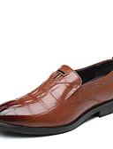 povoljno Muški sakoi i odijela-Muškarci Formalne cipele Koža Jesen Posao Oksfordice Crn / Braon / Zabava i večer / Cipele za noviteti