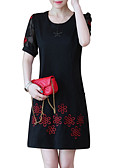 cheap Casual Dresses-Women's Basic Slim Sheath Dress / Summer
