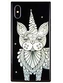 halpa Yöpuvut-Etui Käyttötarkoitus Apple iPhone X / iPhone 8 Plus / iPhone 8 Kuvio Takakuori Kissa Kova Karkaistu lasi