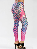 cheap Leggings-Women's Daily Sporty Legging - Geometric Mid Waist