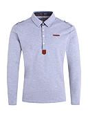 preiswerte Herren Polo Shirts-Herrn Solide Polo