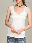 tanie T-shirt-damski podkoszulek - jednolity okrągły dekolt