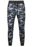 ieftine Pantaloni Bărbați si Pantaloni Scurți-Bărbați Bumbac Zvelt Pantaloni Sport Pantaloni - camuflaj Trifoi