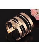 cheap Women's Skirts-Women's Layered Cuff Bracelet - Punk, Rock Bracelet Gold / Silver For Club / Bar