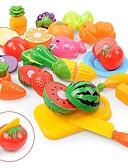 olcso Női hálóruházat-Szerepjátékok Élelem / Gyümölcs Szülő-gyermek interakció Műanyag ház Iskola előtti Ajándék 18 pcs
