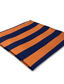 olcso Férfi nyakkendők és csokornyakkendők-Férfi Csíkos / Színes / Jacquardszövet Vintage / Party / Munkahelyi - Pocket Squares
