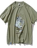 povoljno Muške majice i potkošulje-Majica s rukavima Muškarci Dnevno Jednobojni