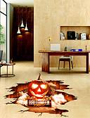 preiswerte Herren T-Shirts & Tank Tops-Bodenaufkleber - 3D Wand Sticker Halloween / 3D Wohnzimmer / Schlafzimmer / Badezimmer