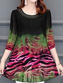 cheap Women's Dresses-Women's Going out Blouse - Floral