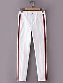 baratos Calças e Shorts Masculinos-Mulheres Activo Delgado Jeans Calças - Sólido