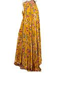 hesapli Göbek Dansı Giysileri-Kadın's Kumsal Maksi Salıncak Etekler - Çiçekli