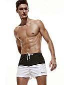 ieftine Pantaloni Bărbați si Pantaloni Scurți-Bărbați Activ / De Bază Pantaloni Chinos / Pantaloni Scurți Pantaloni Bloc Culoare