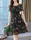 זול שמלות נשים-מותניים גבוהים עד הברך שמלה נדן בגדי ריקוד נשים