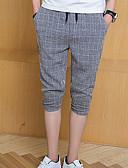 ieftine Pantaloni Bărbați si Pantaloni Scurți-Bărbați De Bază Pantaloni Scurți Pantaloni Carouri