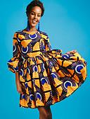 זול שמלות מקסי-מעל הברך שמלה נדן ליציאה בגדי ריקוד נשים