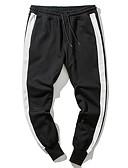 זול מכנסיים ושורטים לגברים-בגדי ריקוד גברים משוחרר מכנסי טרנינג מכנסיים אחיד / ספורט
