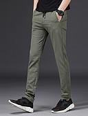 povoljno Muške majice i potkošulje-Muškarci Slim Sportske hlače Hlače Jednobojni