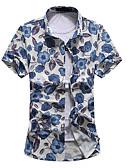 povoljno Muško egzotično rublje-Majica Muškarci Dnevno Cvjetni print Print