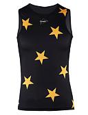 cheap Women's Nightwear-SPAKCT Sleeveless Cycling Vest - White / Black Bike Quick Dry