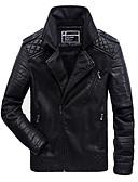 cheap Men's Jackets & Coats-Men's Jacket - Contemporary Stand / Long Sleeve