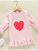 povoljno Džemperi i kardigani za djevojčice-Djeca Djevojčice Osnovni Print Dugih rukava Regularna Džemper i kardigan Djetelina