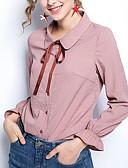 billige Kjoler til nyttårsaften-Skjorte Dame - Ensfarget, Blondér Grunnleggende / Gatemote