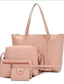 ieftine Dresses For Date-Pentru femei Genți PU Seturi de sac Set de pungi din 4 buc Fermoar Gri Deschis / Maro / Roșu Vin
