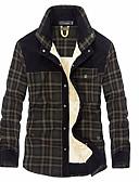 cheap Fashion Belts-Men's Basic Shirt - Plaid