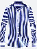 povoljno Muške košulje-Majica Muškarci Izlasci / Rad Prugasti uzorak