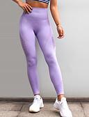 ieftine Leggings-Pentru femei Sport Legging - Mată, Imprimeu Talie medie