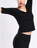 povoljno Majica s rukavima-Majica s rukavima Žene - Aktivan / Osnovni Sport Jednobojni Otvorena leđa
