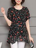 ieftine Bluză-bluza pentru femei - gât răsucit