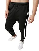 זול Jackets-בגדי ריקוד גברים בסיסי / סגנון רחוב צ'ינו / מכנסי טרנינג מכנסיים קולור בלוק