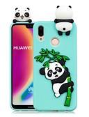 hesapli Cep Telefonu Kılıfları-Pouzdro Uyumluluk Huawei Huawei P20 / Huawei P20 Pro / Huawei P20 lite Kendin-Yap Arka Kapak Panda Yumuşak TPU / P10 Lite / P10