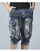 ieftine Pantaloni Bărbați si Pantaloni Scurți-Bărbați De Bază Pantaloni Scurți Pantaloni Bloc Culoare
